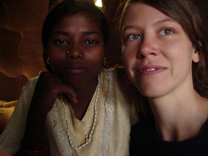 Jacqueline in Indien
