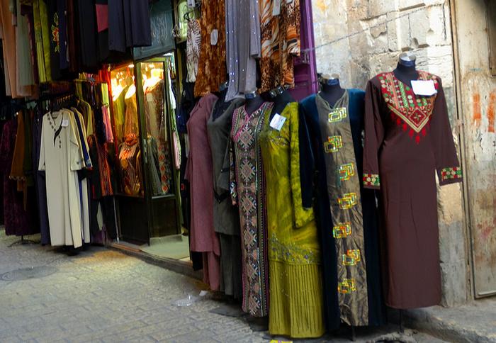 Eine eher arabisch konservative Auswahl aus Jerusalems Altstadt